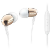 Philips SHE3905GD/00 audio In-Ear fülhallgató mikrofonnal, Aranysárga (SHE3905GD/00)