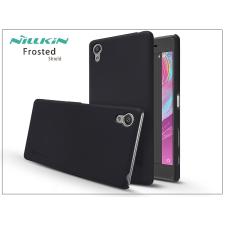 Sony Xperia X (F5121) hátlap képernyővédő fóliával - Nillkin Frosted Shield - fekete tok és táska