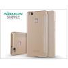 Huawei P9 Lite oldalra nyíló flipes tok - Nillkin Sparkle - gold
