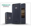 Huawei P9 Plus oldalra nyíló flipes tok - Nillkin Sparkle - fekete tok és táska