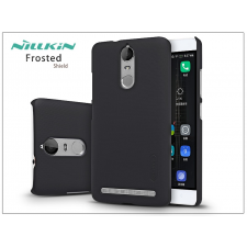 Lenovo K5 Note hátlap képernyővédő fóliával - Nillkin Frosted Shield - fekete tok és táska