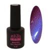 Master Nails MN 6ml Gel polish/129 Selyem Lila   gél lakk 6 ml-es kiszerelésben