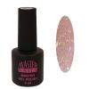 Master Nails MN 6ml Gel polish/021 Csillámos Barack  gél lakk 6 ml-es kiszerelésben
