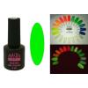 Master Nails MN 6ml Gel polish FLUO-10 Sötétben és UV fényben világító gél lakk 6ml-es kiszerelésben