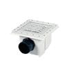 Fenékürítő Aquamax 315x315 mm D110/125 ragasztós csatlakozóval