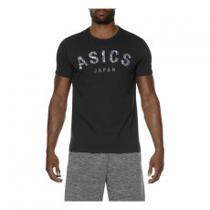 Asics Camou Logo SS Top fekete férfi