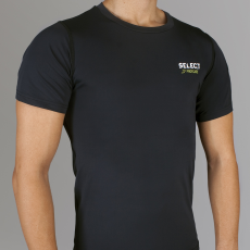 Select Kompressziós póló S/S 6900 - fekete