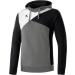 Erima Hoodie szürke/fekete/fehér pulóver