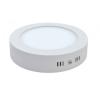 12W LED Mennyezeti LED panel Falon Kívüli Kerek hideg Fehér