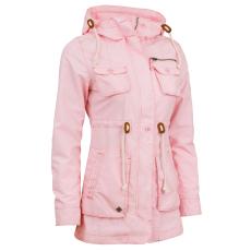 Woox Parka kabát Woox Drizzle Rose női