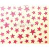 Nail-Art 3D körömmatrica  BLE pink csillag (PNA)