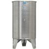 Inox 800 l-es bortartály, úszófedeles, paraffinos, 3 csappal (Zottel) (10502)