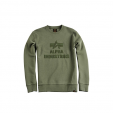 Alpha Industries Application Sweater - sage green