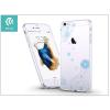 Devia Apple iPhone 6/6S hátlap kristály díszitéssel - Devia Crystal Soft Lily - clear/blue