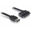 DELOCK Cable eSATAp > Micro SATA 16pin 0,5m (84415)