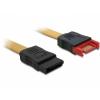 DELOCK Cable SATA 6 Gb/s Extension male-female 100cm (82856)