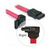DELOCK Cable SATA down/straight red 50cm (84223)
