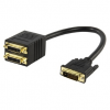 König DVI Adapter Male to 2x DVI Female König CABLE-561