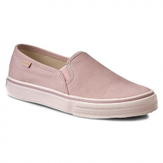 Keds Félcipő KEDS - Double Deck WH54679 Leather Pink