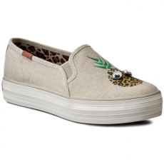 Keds Teniszcipő KEDS - Triple Deck Eyes WF54944 Natural