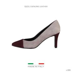 Made In Italia készült Italia női magassarkú cipő FLAVIA_BORDO-PIETRA