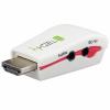 Techly konverter, HDMI --> VGA, M/F audio-val, mini verzió