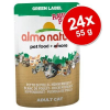 Almo Nature Label Almo Nature Green Label Raw gazdaságos csomag 24 x 55 g - Csirkemell