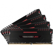 Corsair DDR4 64GB 3000MHz Corsair VENGEANCE LED C15 KIT4 - Red Led memória (ram)