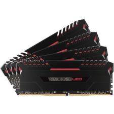 Corsair DDR4 64GB 3000MHz Corsair VENGEANCE LED C15 KIT4 - Red Led memória (ram)
