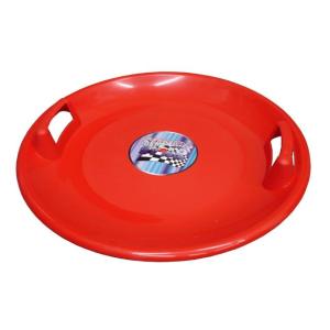 CorbySport Superstar müanyag taányér piros