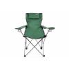OEM Összecsukható kemping szék DIVERO párnával - zöld