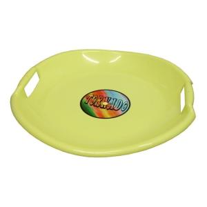CorbySport Tornádo szánkó tányér sárga