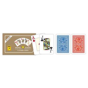 OEM Modiano 2 sarok 100% plasztik kártya RAMINO GOLDEN TROPHY