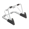 DELOCK Stand 10 tablet tartó asztalra aluminium