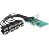DELOCK PCI-E x1 - 8 soros port IO vezérlő