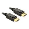 DELOCK Displayport M/M video jelkábel 3m