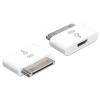 DELOCK Apple 30pin -> USB micro B M/F adapter fehér