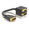 DELOCK DVI-I -> DVI-I VGA M/F adapter