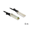 DELOCK Twinax SFP+ M/M adatkábel 5m fekete