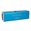 LogiLink Hordozható MP3 lejátszó és FM Rádio sztereó hangszóróval kék