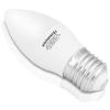 Whitenergy LED izzó   10xSMD2835  C37   E27   5W   230V   melegfehér  tej