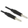 DELOCK Jack 6,3mm M/M audio kábel 6m fekete