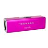 LogiLink Hordozható MP3 lejátszó és FM Rádio sztereó hangszóróval pink