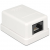 DELOCK Modular Wall Outlet 1 Port Cat.6 compact UTP