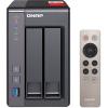 QNAP TS-251+-8G 2BAY 2.0GHZ 8GB DDR3 2X GBE 2X USB3.0 2X USB 2.0