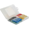 DELOCK Hőre zsugorodó csöveket tartalmazó doboz, 230 darab, válogatott színek