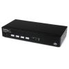 Startech USB DVI 4 portos KVM switch DDM Fast Switching