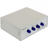 DELOCK 4 portos serial RS-232 switch manuális