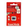 Sandisk 32GB Micro Secure Digital Class 4 microSDHC memóriakártya