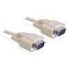DELOCK Serial RS-232 M/M adatkábel 5m fehér